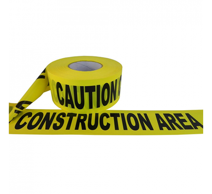 BRC-CCA - Caution Construction Area Barricade Tape