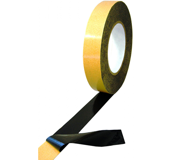 DC-4420LB - Double Sided Clear or Black PVC Tape
