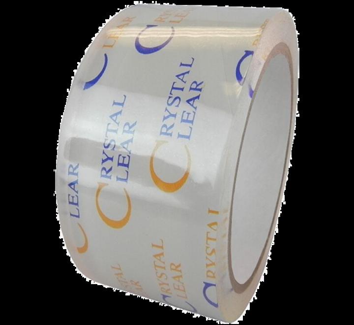OPP-22CC - 2.1 Mil Crystal Clear Polypropylene Carton Sealing Tape
