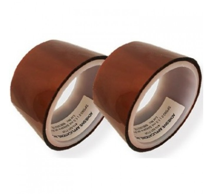 S590HT-DC2 POLYSIL HIGH TEMPERATURE DOUBLE SIDED ADHESIVE TAPE WITH LINER
