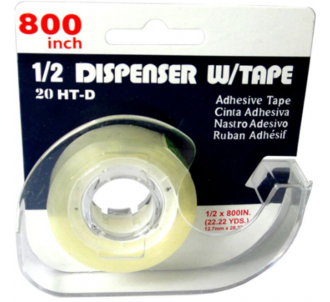 20HT-D - Stationery Office Supply Tape on Half Dispenser