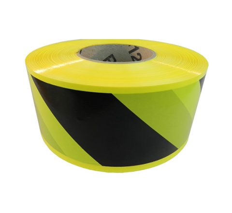 BRC-B&Y - Black/Yellow Striped Barricade Tape