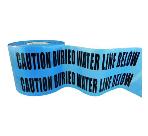 BRC-BWLB - Caution Buried Water Line Below Warning Tape