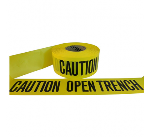 BRC-COT - Caution Open Trench Barricade Tape