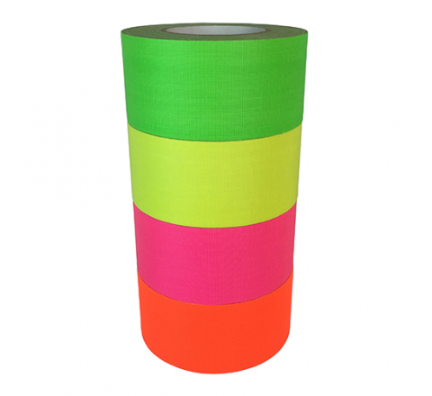FCT-665 - Fluorescent Gaffers/Spike Tape (matte finish)