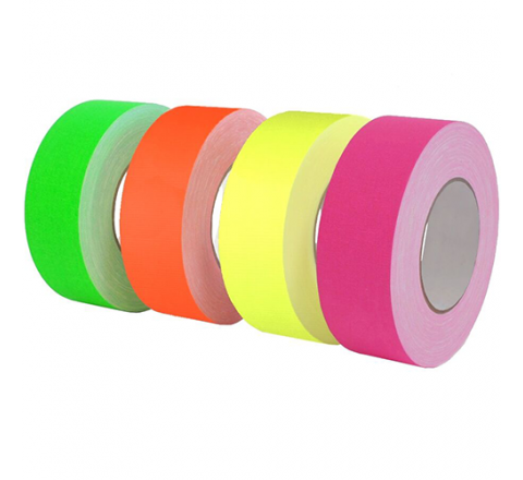 CGT-80F - Fluorescent Gaffers/Spike Tape (low gloss finish)