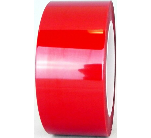 MYP-3RS - Red Polyester Splicing & Printed Circuit Board Tape, Silicone Adhesive
