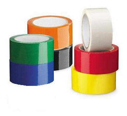 OPP-22C - 2.2 Mil Colored Polypropylene Carton Sealing Tape