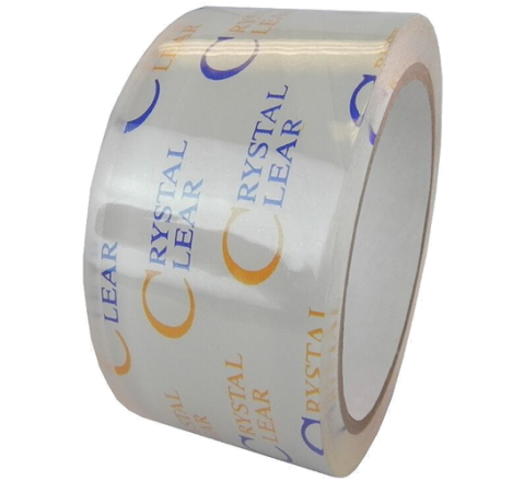 OPP-34CC - 3.6 Mil Crystal Clear Polypropylene Carton Sealing Tape