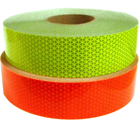 REF-DBF - Solid Color Fluorescent Reflective Tape, 50 Yd