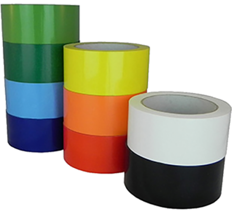UPVC-24C - 2.4 Mil UPVC Colored Carton Sealing Tape