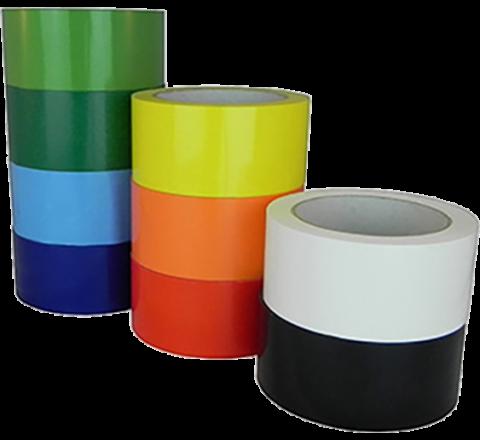UPVC-24C - 2.4 Mil UPVC Colored Carton Sealing Tape