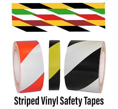 Striped Vinyl Safety Tapes